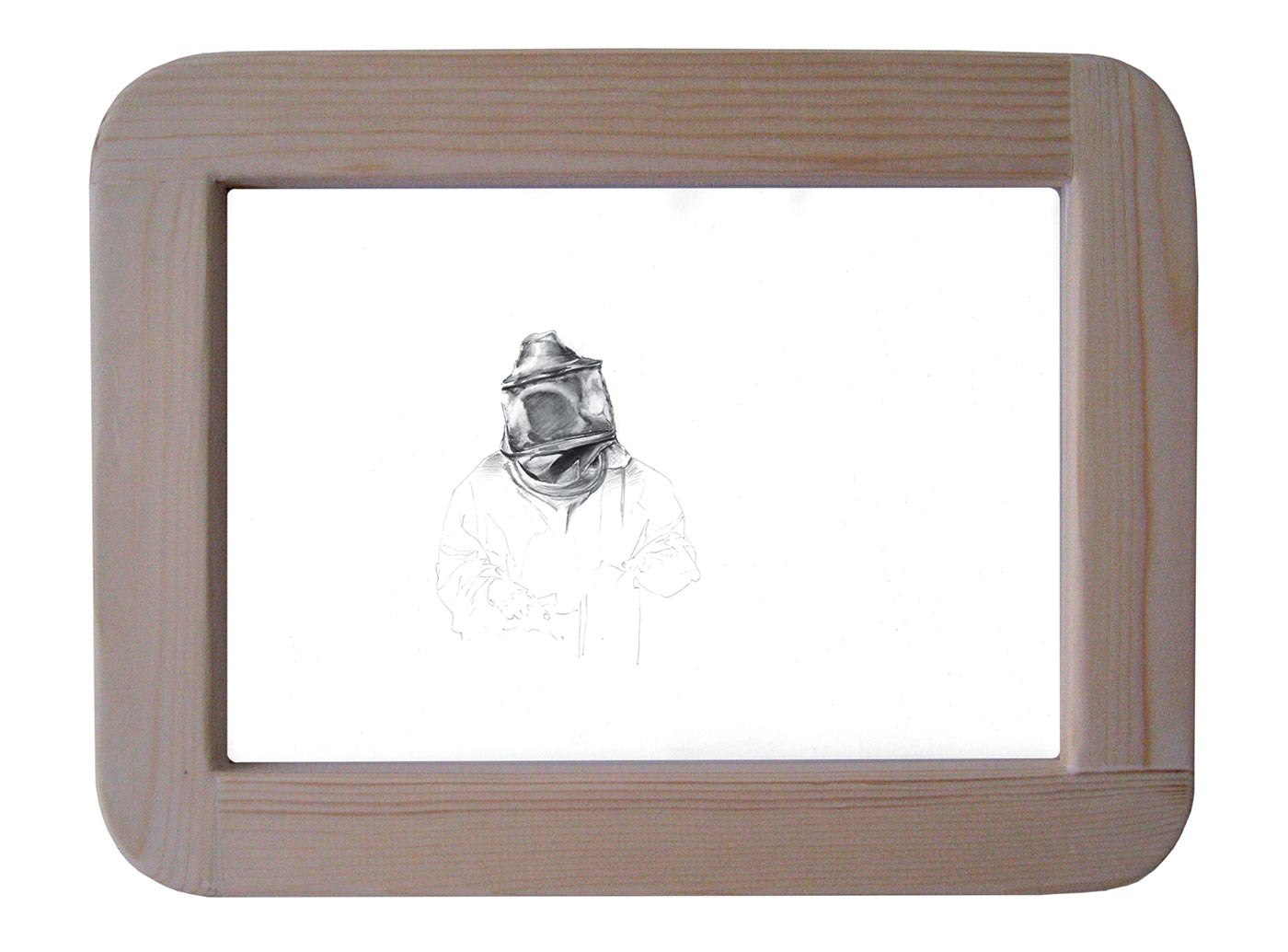 graphite on paper cm 38 x 27 x 3. 2008