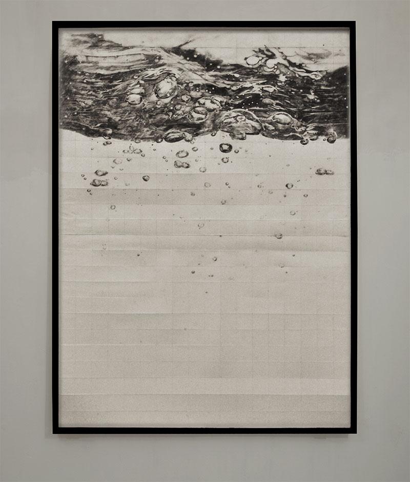graphite on paper, cm 70 X 90