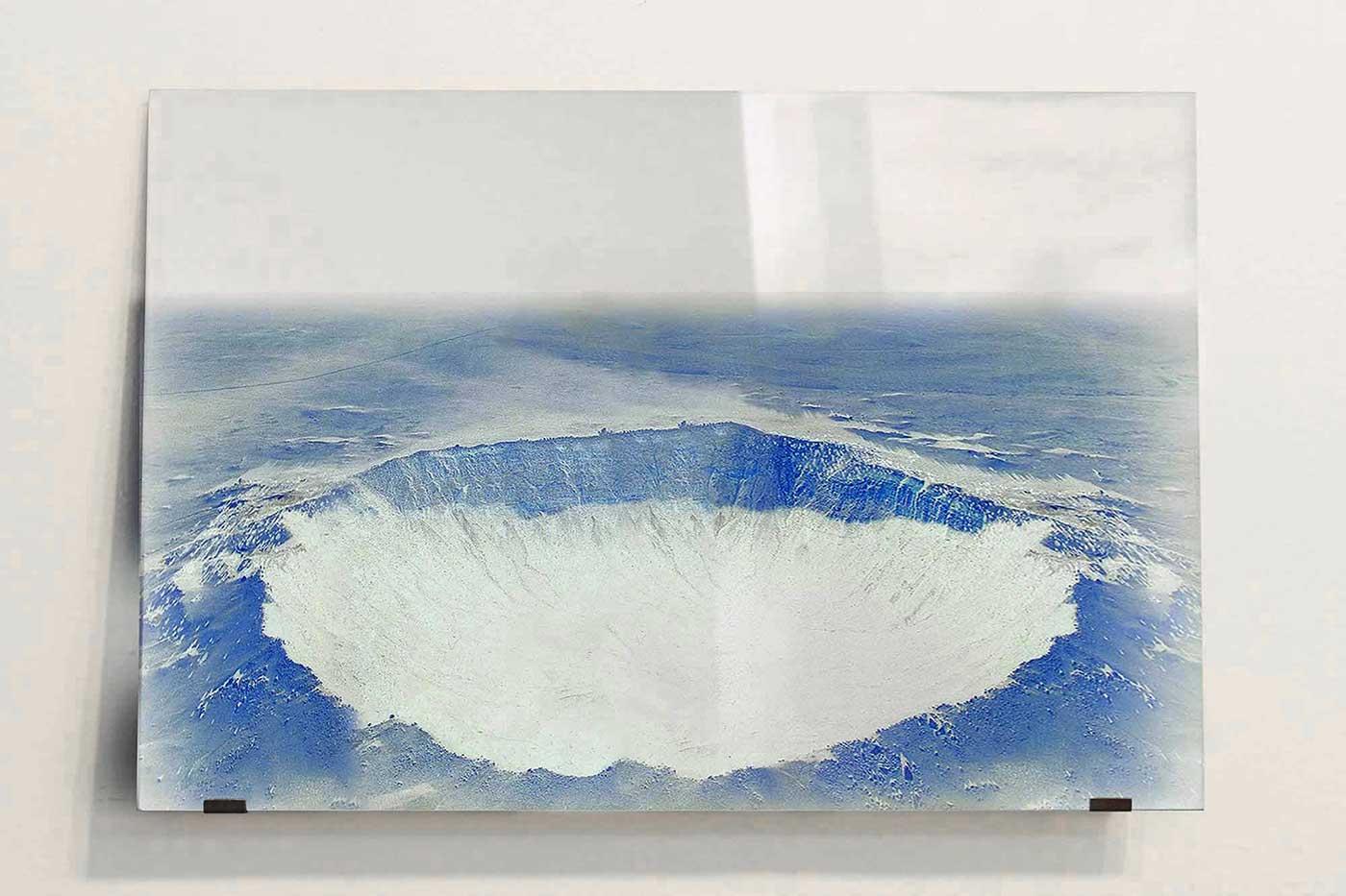 photographic print on glass cm 120 x 90 x 0,6. 2012