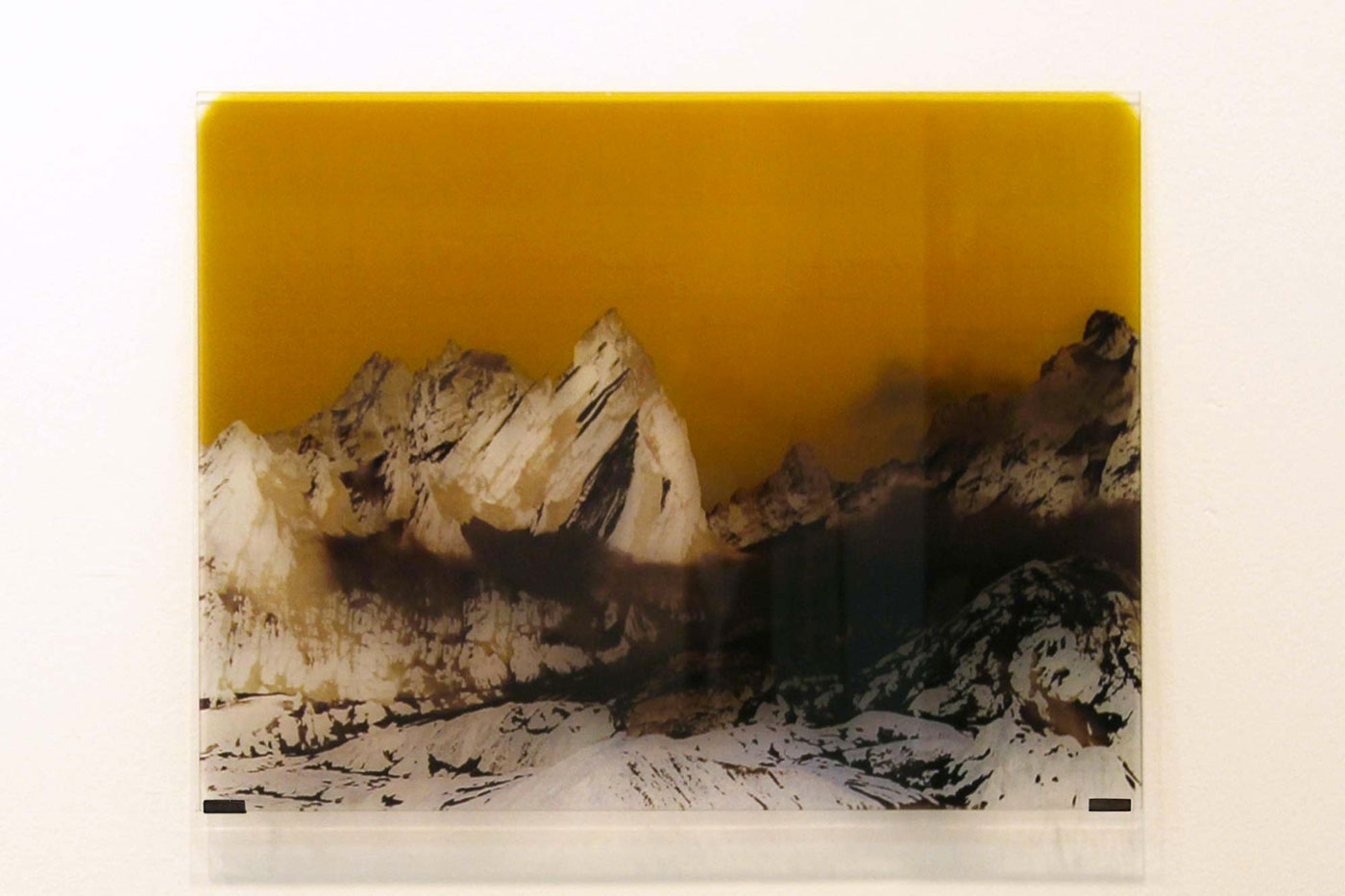 photographic print on glass cm 60 x 45 x 0,4. 2012