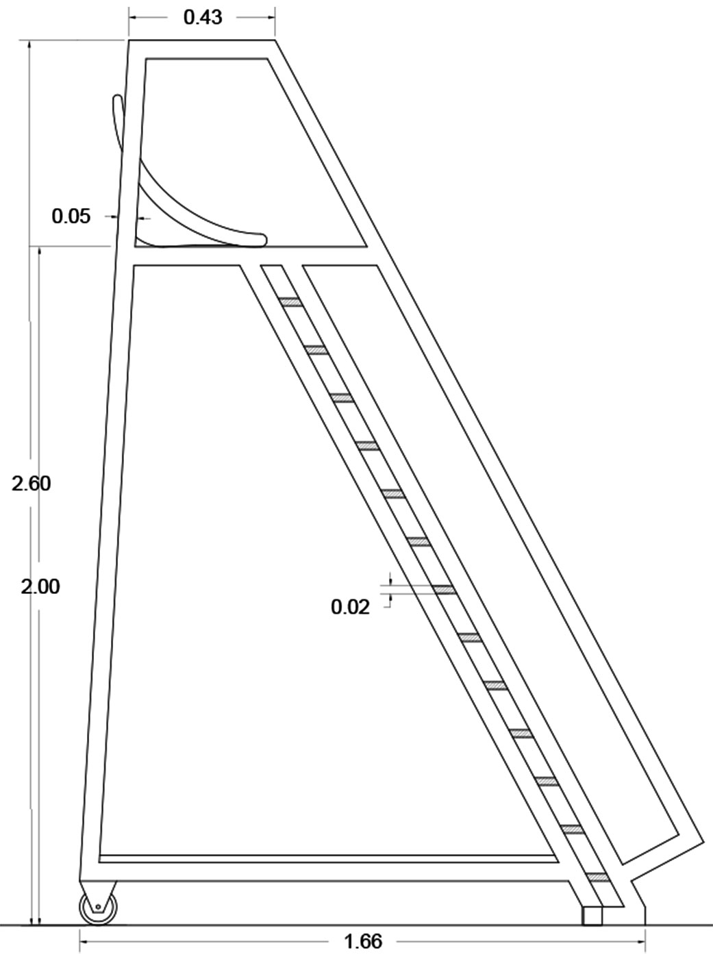 detail, section drawing