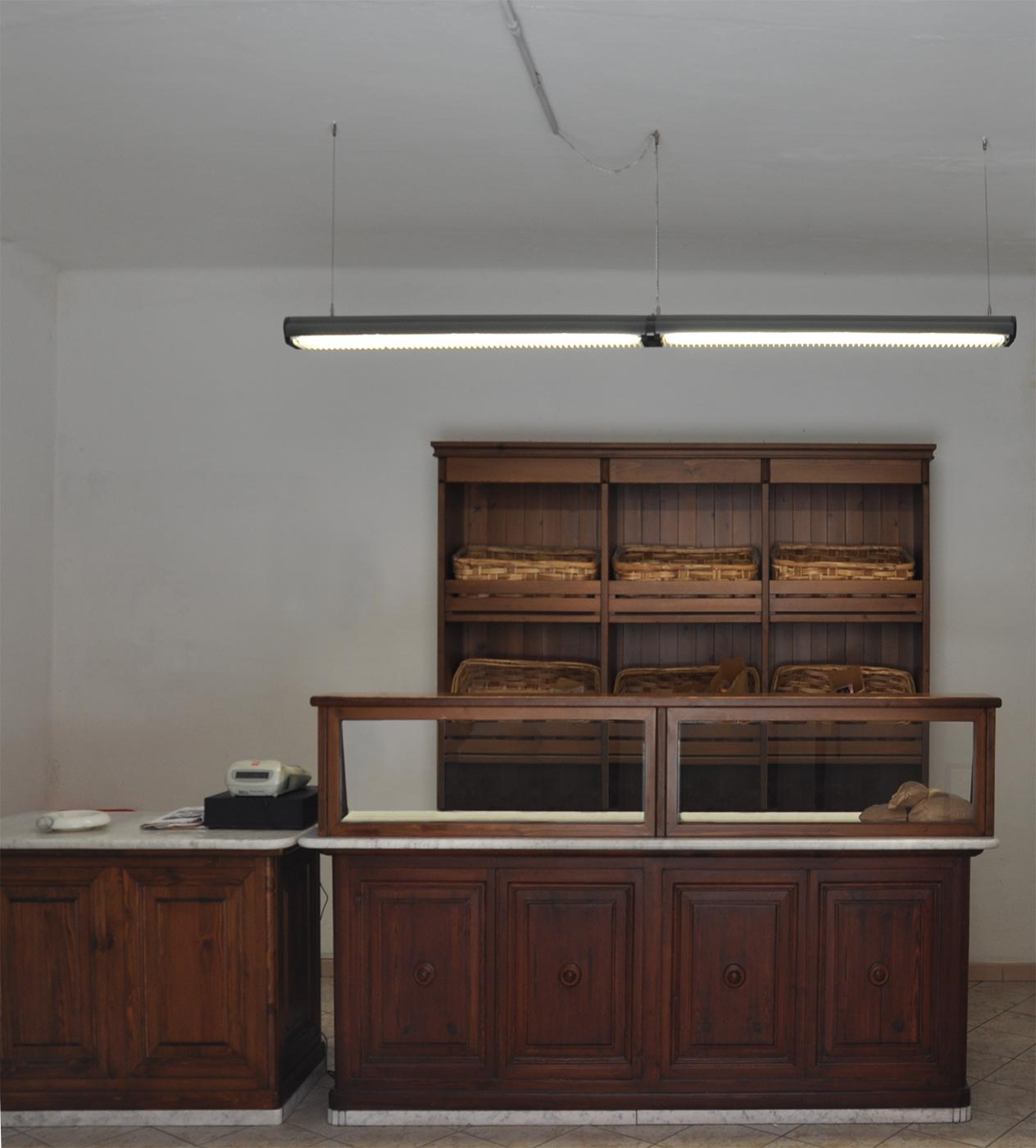 forniture of bakery. 2011